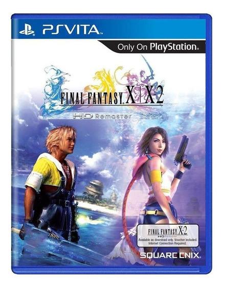 Final Fantasy X/x2 Hd Remaster Ps Vita Mídia Física