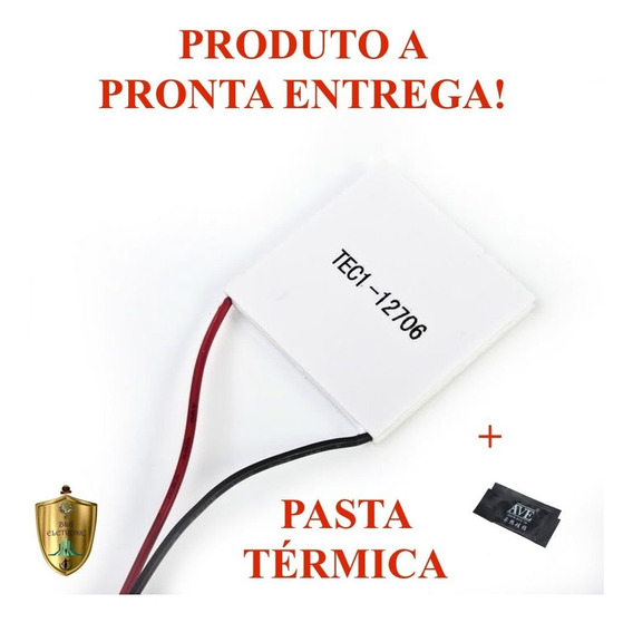 Pastilha Placa Peltier Tec1-12706 Electrolux Pe11b+pasta.