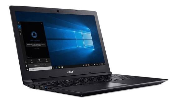 Notebook Acer Nxhaaal001 A315-33-c39f Dual Core N3060 4gb 500gb Win10 15.6 Hd Preto