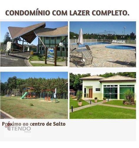 Imagem 1 de 15 de Casa 113 M² - Venda - 3 Dormitórios - 1 Suíte - Vila Nova - Salto/sp  / Imob02 - Ca0338
