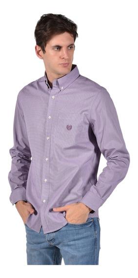Camisa Chaps Hombre 750722883-34jy Violeta