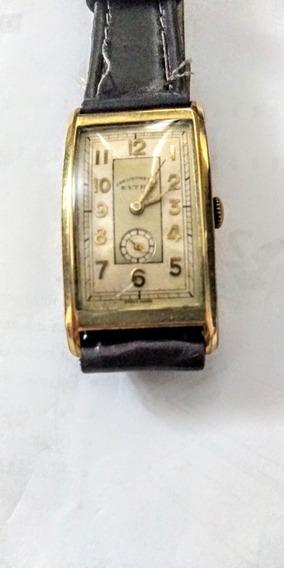 Chronometre Extra Antigo Relógio Suíço Curvex Anos 40unissex