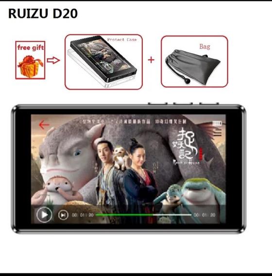 Ruizu D20 8gb Tela De 3 Polegadas Touch Alto Falante