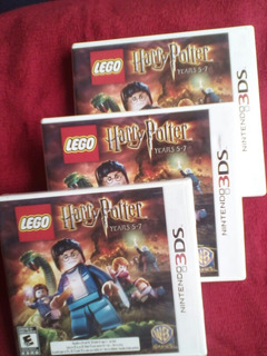 Lego Harry Potter Years 5-7 Nintendo 3 Ds Sellado Fabrica