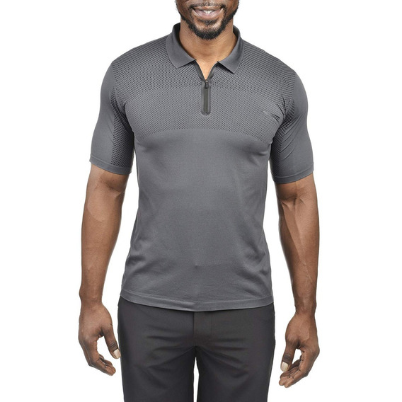 Exclusiva Polo Seamless Copper Fit Pro Performance S M L Xl