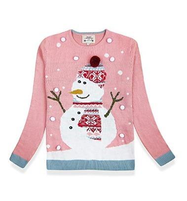 Ugly Sweater Mono De Nieve - Navidad