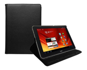 Capa Para Tablet Acer Iconia Tab A200 Giratoria Preta 10.1
