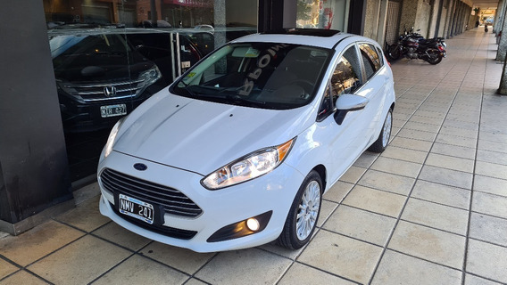 Ford Fiesta 2014 Se Plus Manual 55000 Km Impecable Permuto