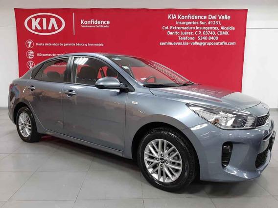Kia Kia Rio Sedan 2018 4 Pts. Lx, Ta6, A/ac., Ve, Ra-15