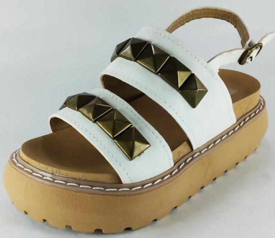 Sandalias Sueco Livianas Niñas De Vestir Moda 27-32 Ref 830