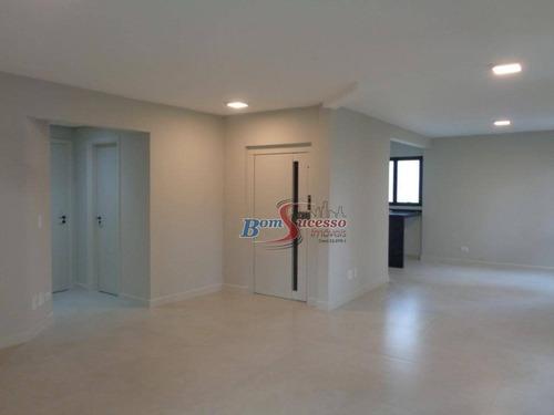 Imagem 1 de 24 de Apartamento Com 4 Dormitórios À Venda, 170 M² Por R$ 1.590.000,00 - Moema - São Paulo/sp - Ap2735