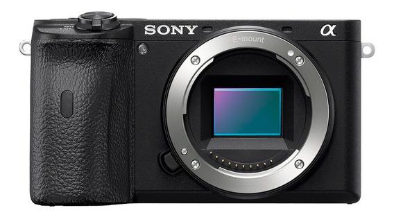 Câmera Fotográfica A6600 Com Sensor Apsc De 24mp Para Lentes