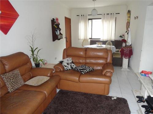 Apartamento Com 2 Dormitórios À Venda, 90 M² Por R$ 450.000,00 - Campo Grande - Santos/sp - Ap1438