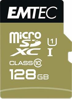 Emtec Microsdxc 128 Gb Clase 10 + Oro