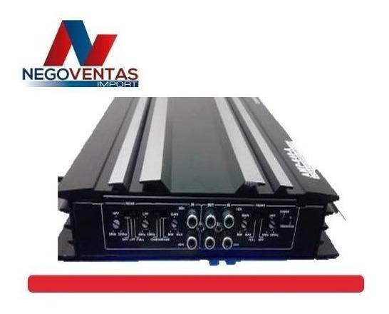 Amplificador Para Carro 1600 Watts Super Potente 4 Canales