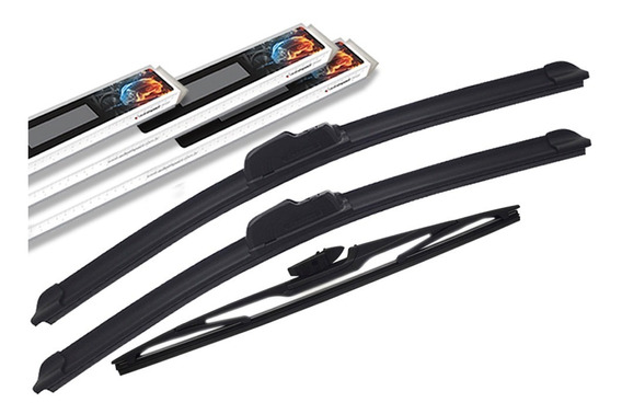 3 Palhetas Limpador Dianteiro+traseiro Autoimpact Promoção