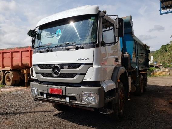 Mercedes-bens Axor 3131 6x4 Ano 2014/2014 Caçamba
