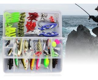 Set De Accesorios De Pesca Profesional Mas De 100 Accesorios