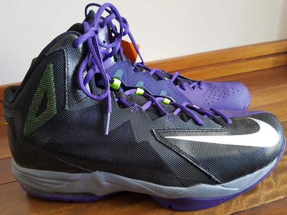Zapatillas Nike Air Max Stutter Step 2 Negro y Violeta