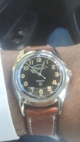Relógio West End Keepsake Vintage Estilo Militar