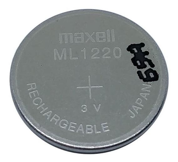 Pilha Recarregável Ml1220 De 3v