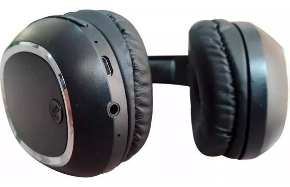 Fone Ouvido Bluetooth Mp3 Cartão Sd Fm Headphone