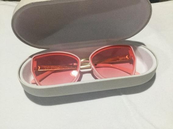 Óculos De Sol Rosa Uv400 Málagah Kids