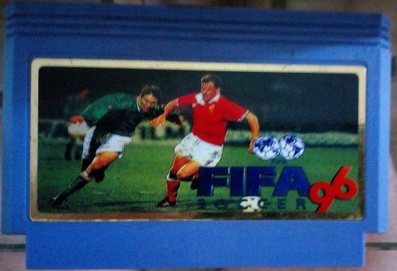 Cartucho 60 Pinos Nintendinho Nes Fifa Soccer 96 - Paralelo