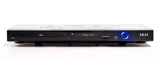 Reproductor De Dvd Divx Usb Akai 4010 Con Control Remoto