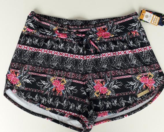Conjunto Biquini Top Cropped + Shorts Adulto