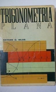 Trigonometría Plana De Nathan O. Niles En Buen Estado