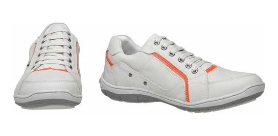 Sapatênis Tênis Sapato Em Couro Masculino Casual Novo Oferta