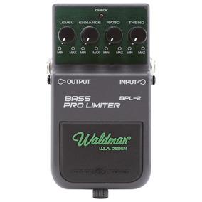Pedal De Efeito Waldman Bass Pro Limiter Bpl-2 P/ Baixo Nf-e