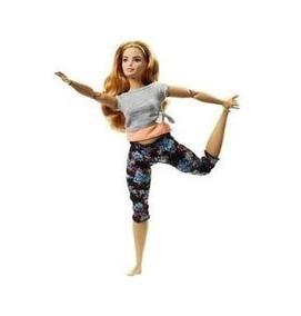 Boneca Barbie Nova Made To Move- Curvy Ruiva