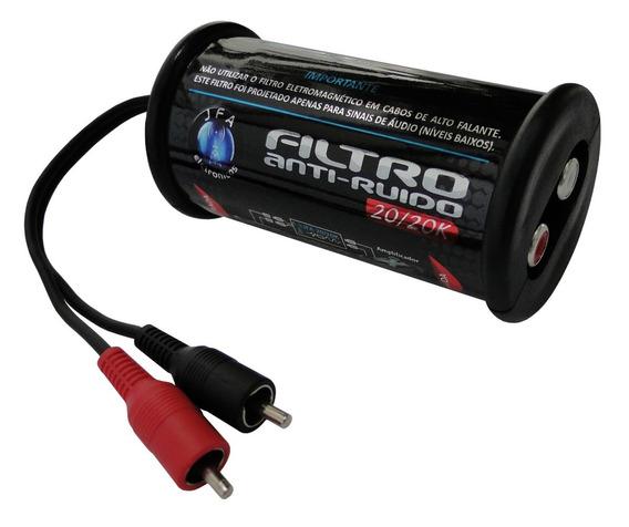 Filtro Anti Ruido 20/20k Stereo Rca