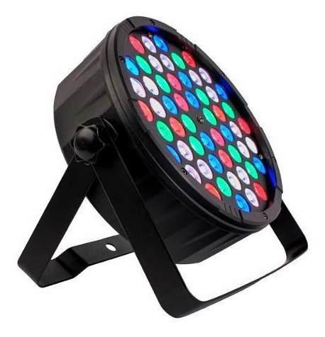 Canhão Luz Refletor Iluminação 54 Leds Rgbw 1w Eventos Novo
