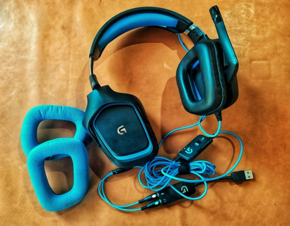 Headset Logitech G430 - 7.1 Gamer