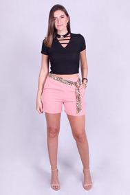 Short Feminino Voga Plus-40451 - Asya Fashion