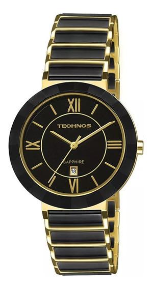 Relógio Technos Sapphire Feminino - 2015ce/4p