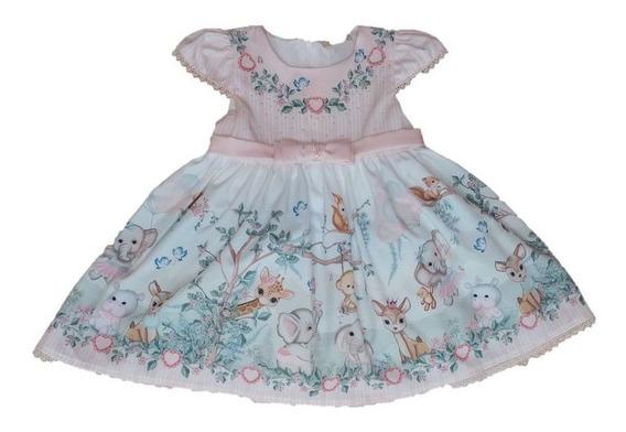 Vestido Infantil Festa Petit Cherie Baby Forest 038