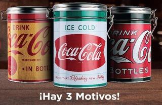Latas Herméticas Coca Cola Colección