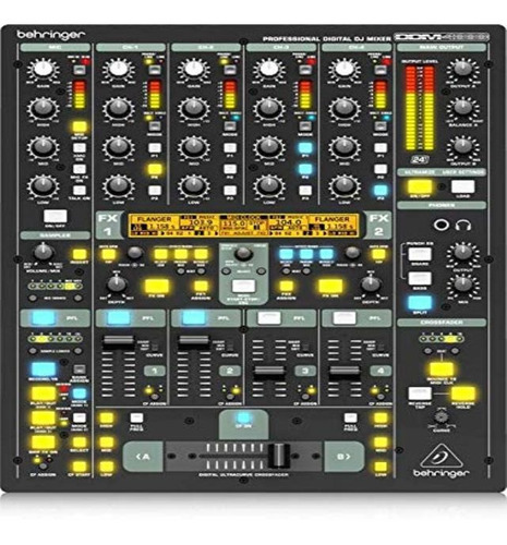 Imagen 1 de 1 de Behringer Digital Pro Mixer Ddm4000 5-channel Dj Mixer