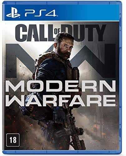 Call Of Duty: Modern Warfare Ps4 Novo Lacrado Pronta Entrega