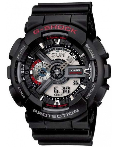 Relógio Casio G-shock Masculino Preto Anadigi Original