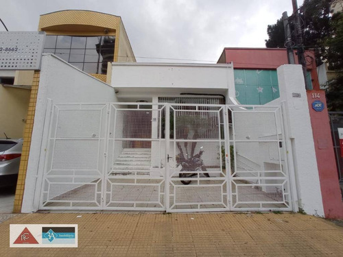 Salão Para Alugar, 160 M² Por R$ 6.000,00/mês - Tatuapé - São Paulo/sp - Sl0213