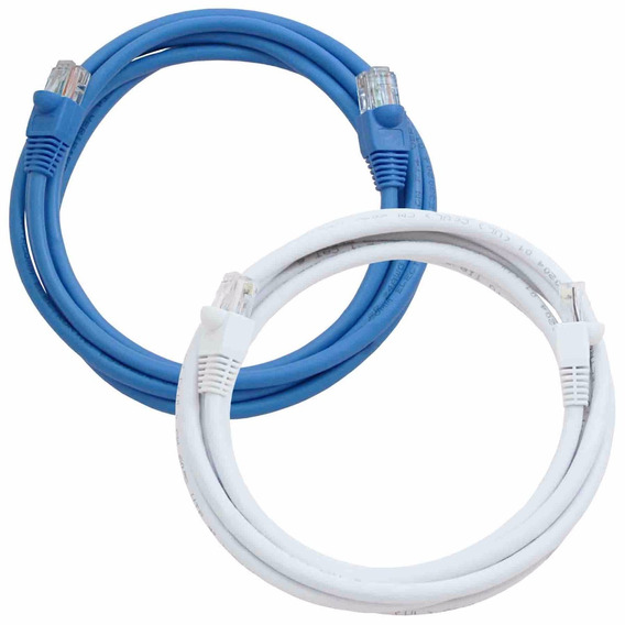 Cable De Red Utp Rj45 Patchcord Cat 5e X 10 Excelente