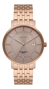 Relógio Orient Ouro Rosa Feminino Frss1041r1rx