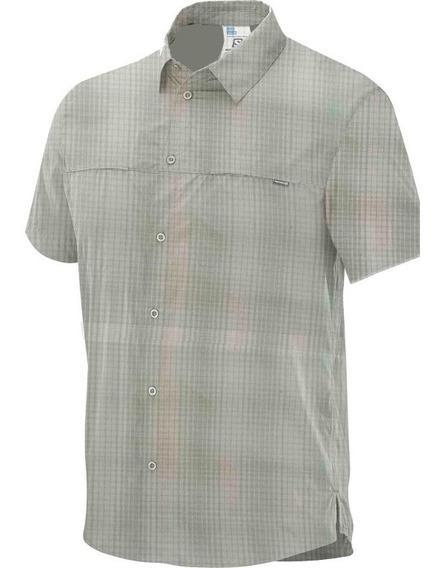 Camisas Hombre - Hiking - Salomon - Capri Ss Shirt M