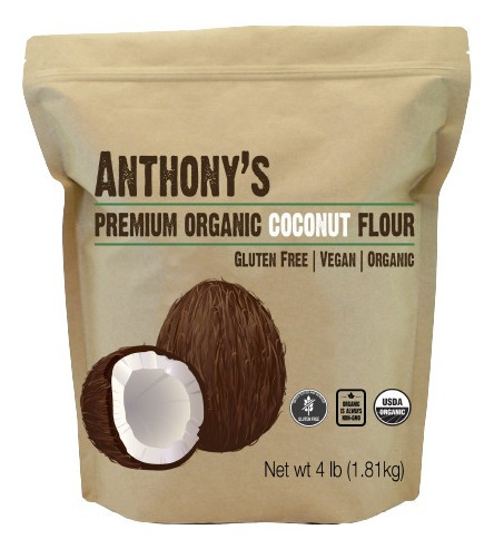 Harina De Coco 1.80kg Anthonys Goods Gluten Free Sin Gluten