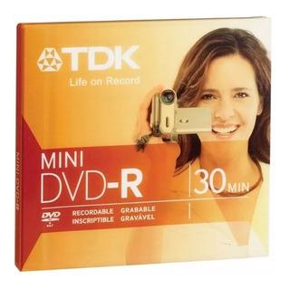 Mini Dvd-r Tdk Grabables X 1 Unid 1.4gb 60 Min Lp Filmadoras